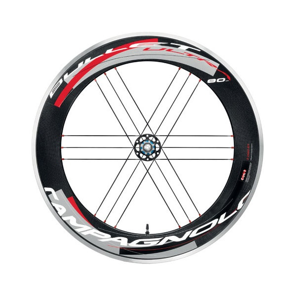 Campagnolo Bullet Ultra 80 wheelset