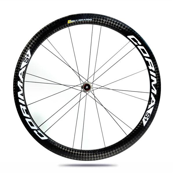 Corima S+ 47MM Clincher wheelset