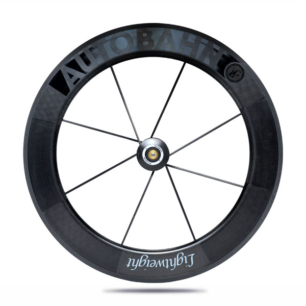 Lightweight Autobahn VR tubular front wheel