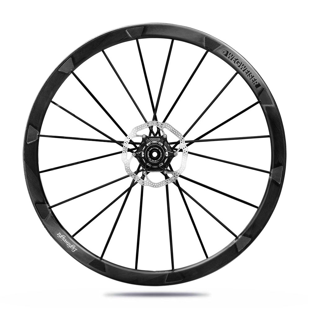 Lightweight Wegweiser Disc Wheelset