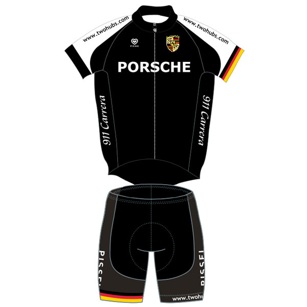 Pissei Porsche Cycling Kit