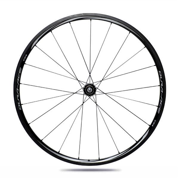 Shimano C24 tubular wheelset - WH-9000-C24-TU