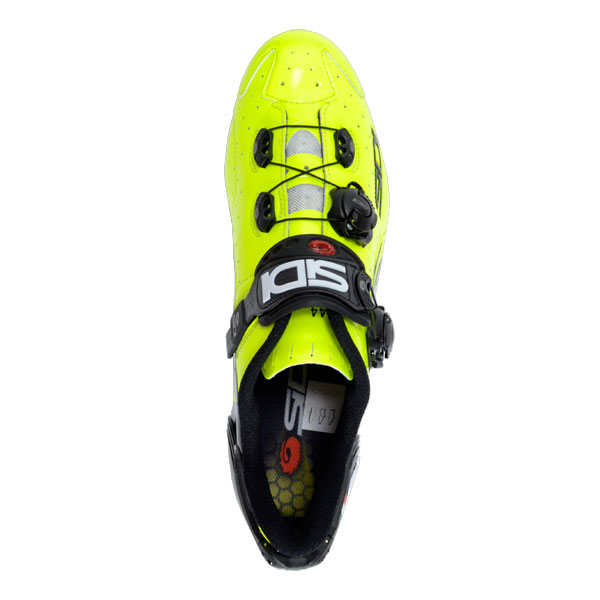 Sidi Wire Vent Carbon Shoes - Fluo