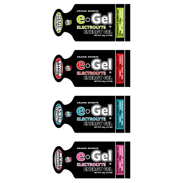 Crank Sports e-Gel Electrolyte Energy
