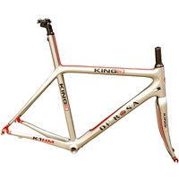 De Rosa King 3 Frameset - Grey / 56cm